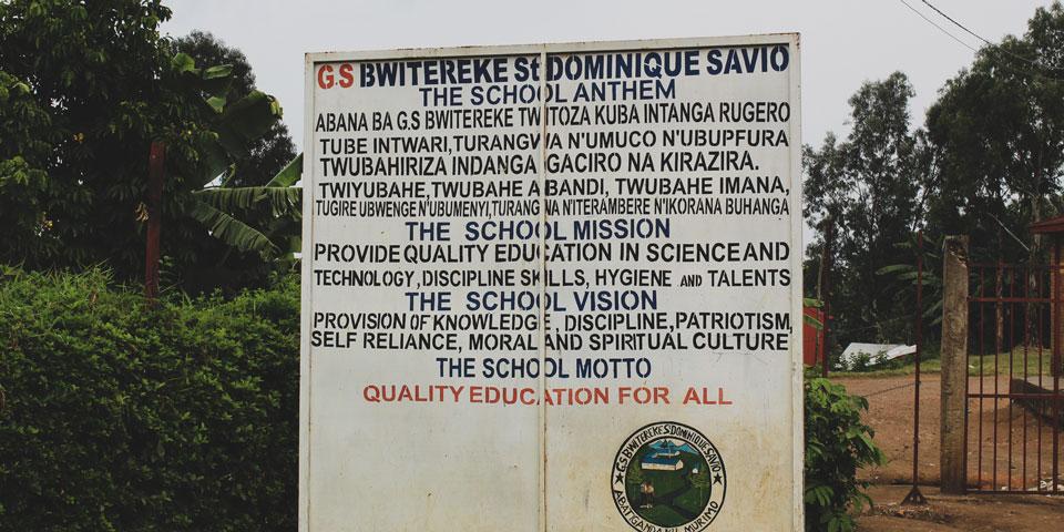 Bwitereke - The School Anthem