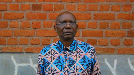 Head Teacher Justin of Kabirizi School
