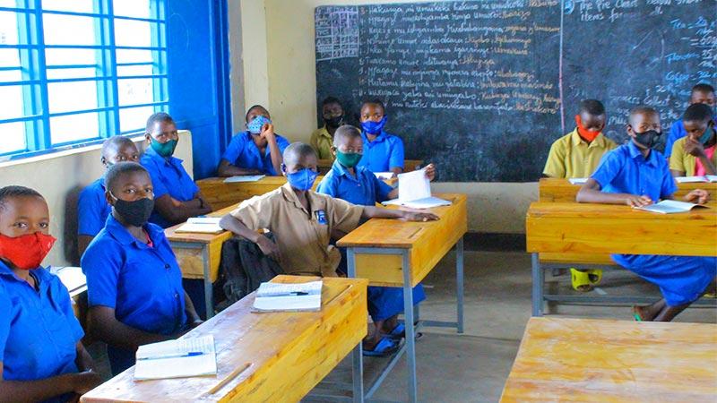 Busigari classroom
