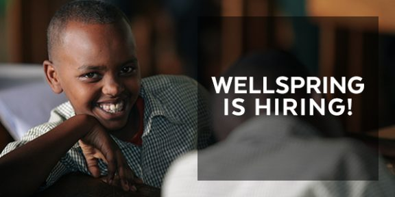 Wellspring is Hiring! Financial Administration Assistant
